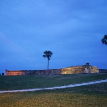 Castillo de San Marco at Sunset